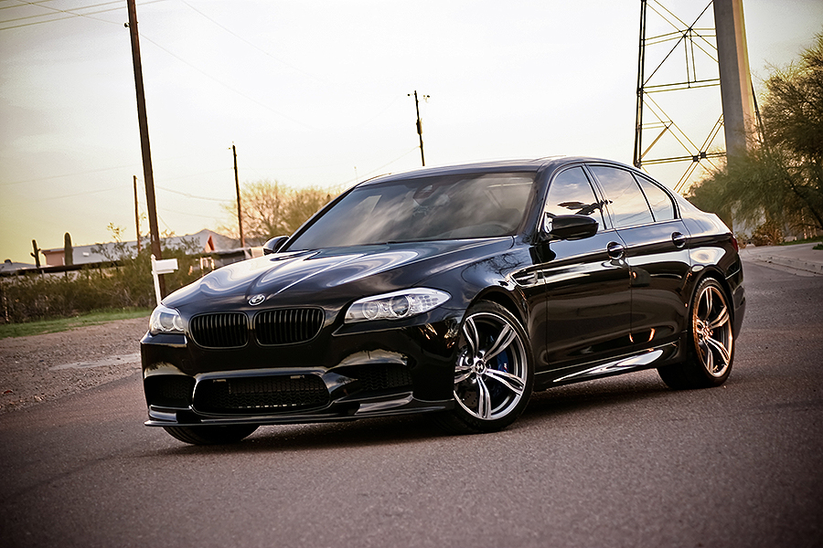 Triple Black Bmw M5 Will Haunt Your Dreams Autoevolution
