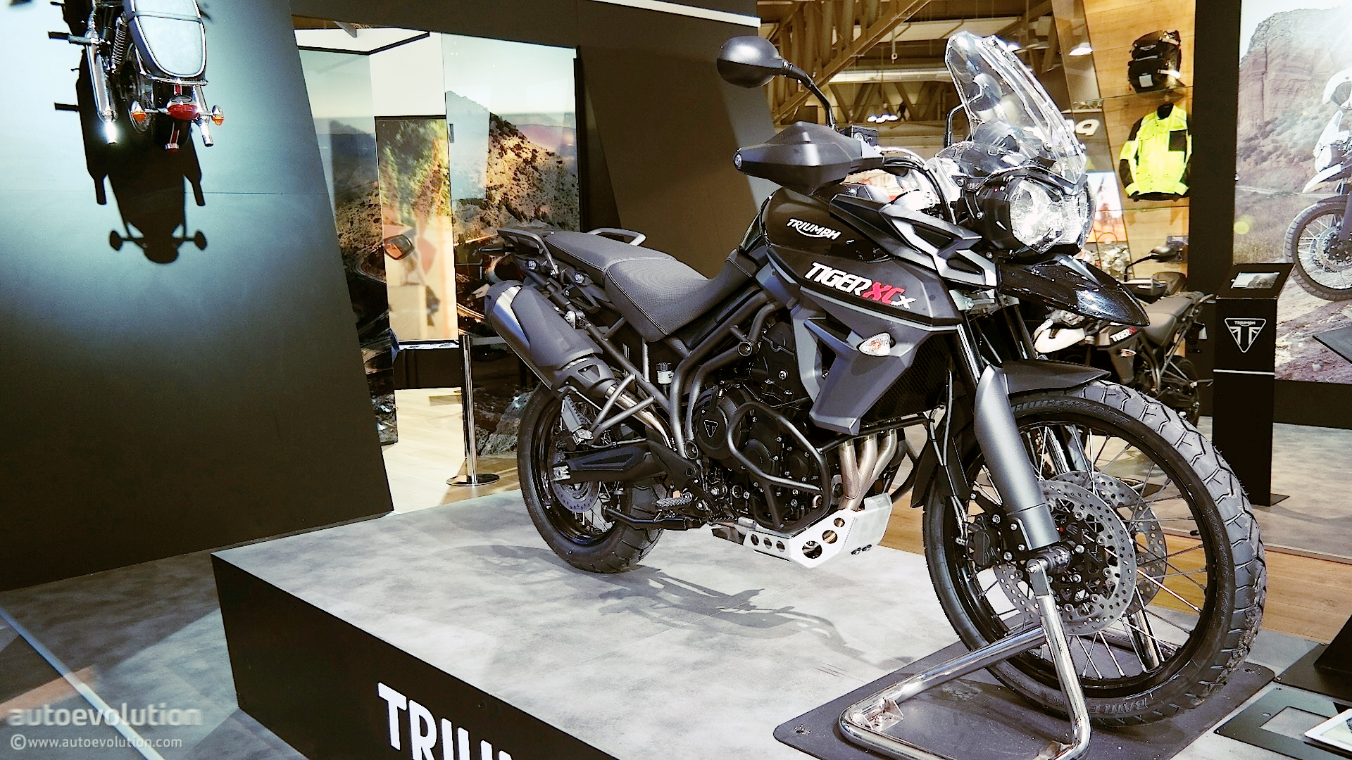 Triumph Tiger Xcx And Xrx Prepping For Adventure At Eicma