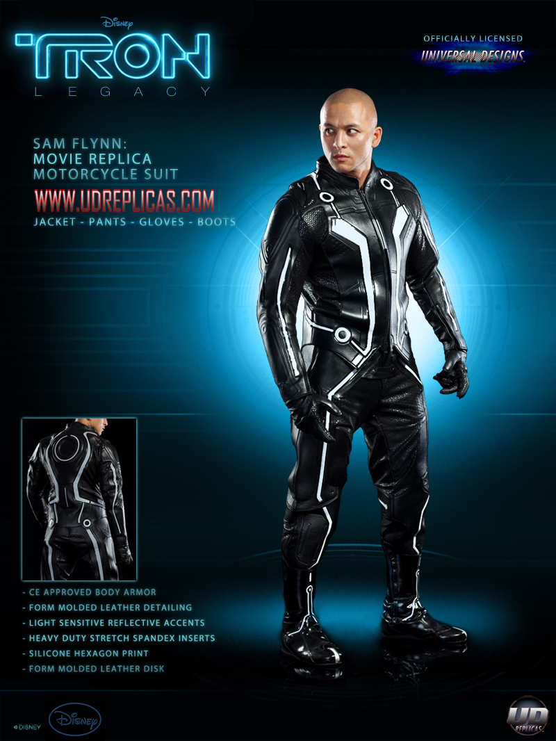 Tron legacy motorcycle suits now available autoevolution for Movie photos for sale
