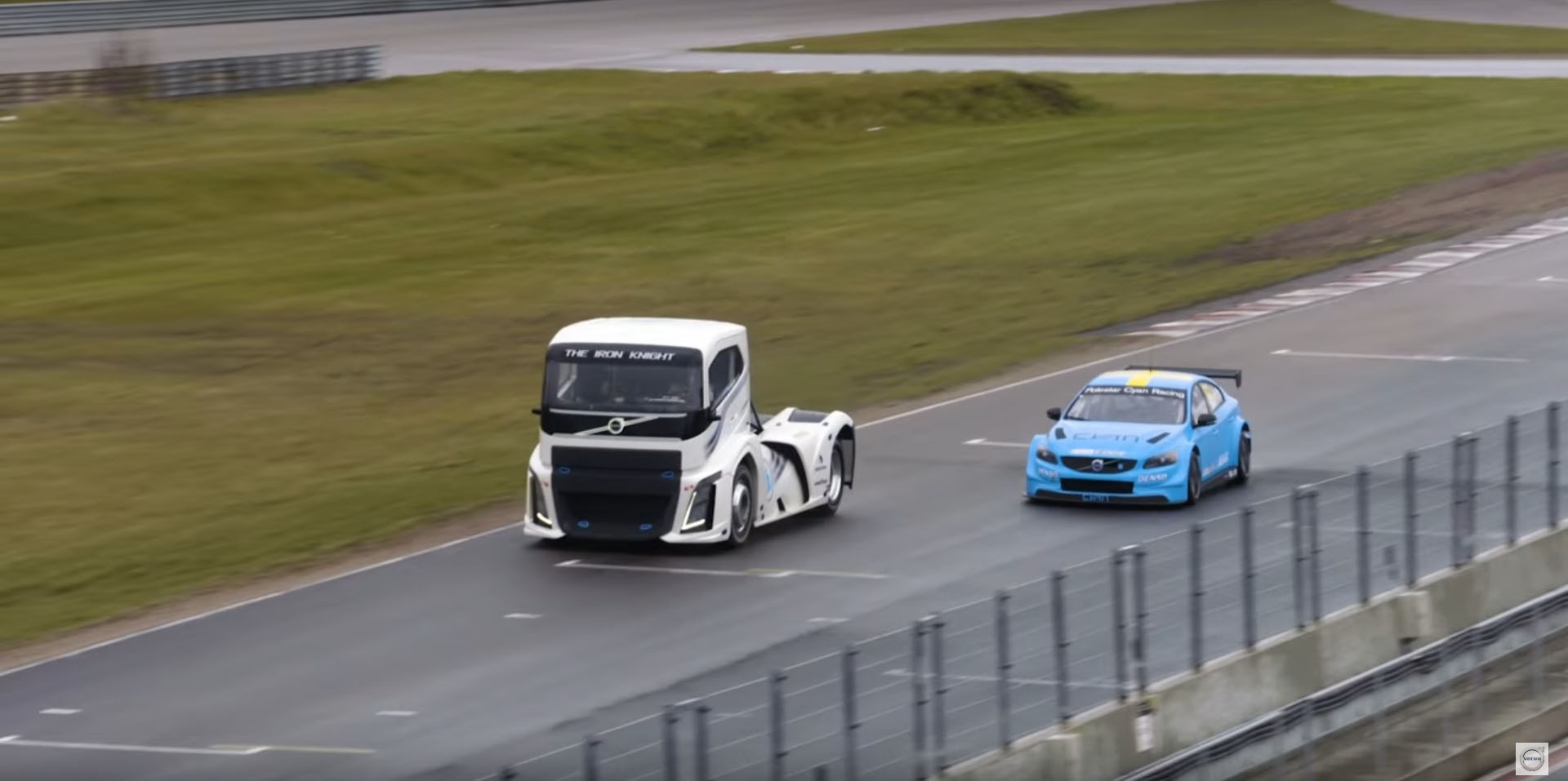 Truck Versus Race Car Track Battle Outcome Is Impossible to Predict ...