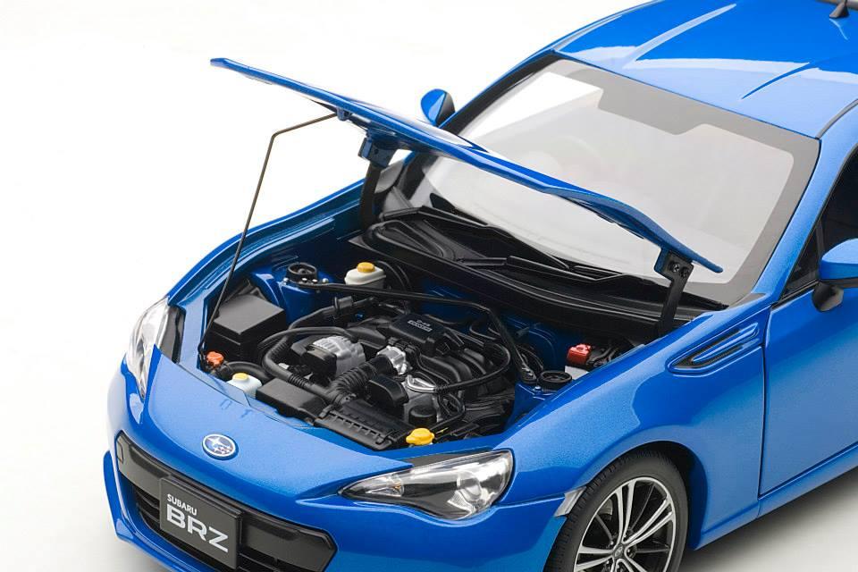 Build Your Own Subaru >> Truly Affordable Subaru BRZ - 1:18 Scale Model in Blue Mica - autoevolution