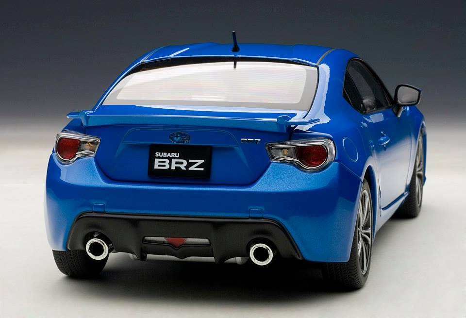 Wrx Sti Race >> Truly Affordable Subaru BRZ - 1:18 Scale Model in Blue Mica - autoevolution