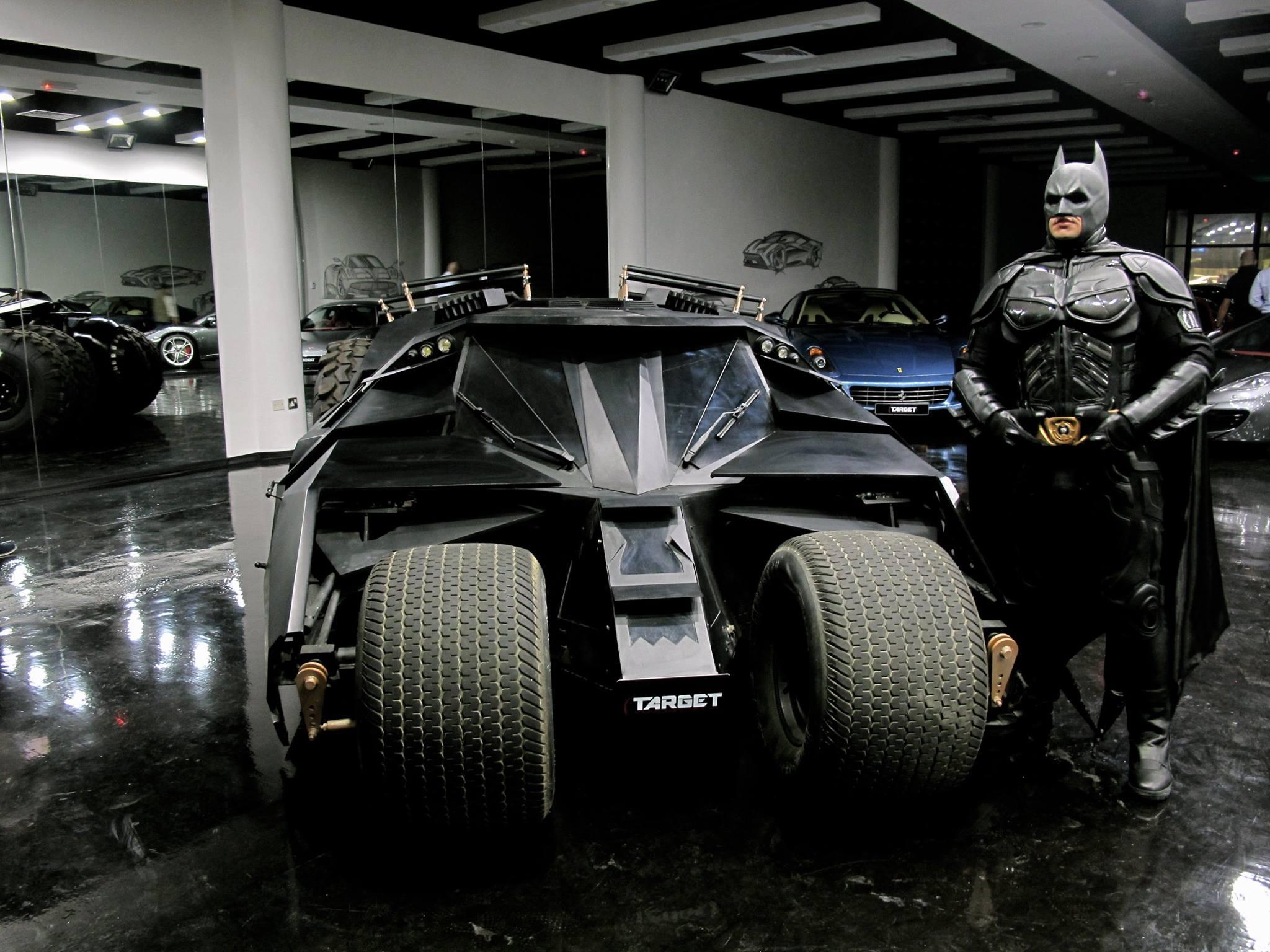 Siêu xe Batmobile xevathethao.vn