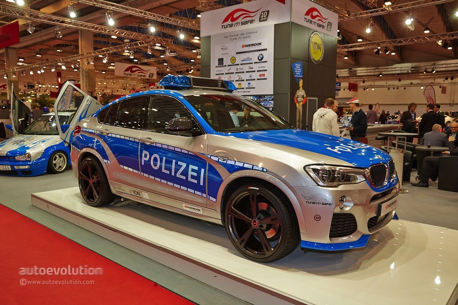 tune it safe campaign brought six cars to the essen motor show 2014 live photos autoevolution. Black Bedroom Furniture Sets. Home Design Ideas