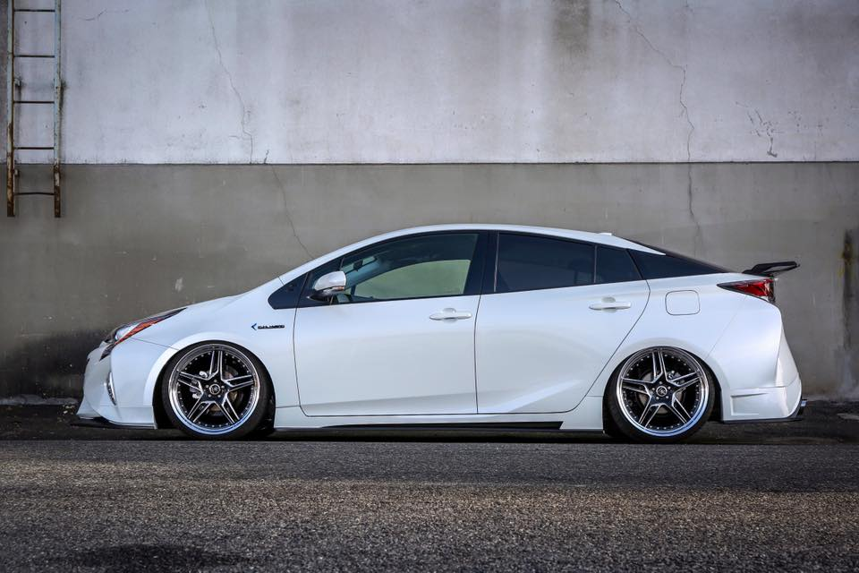 Tuned 2016 Prius with Quad Exhaust and Leather Wrap Looks ...
