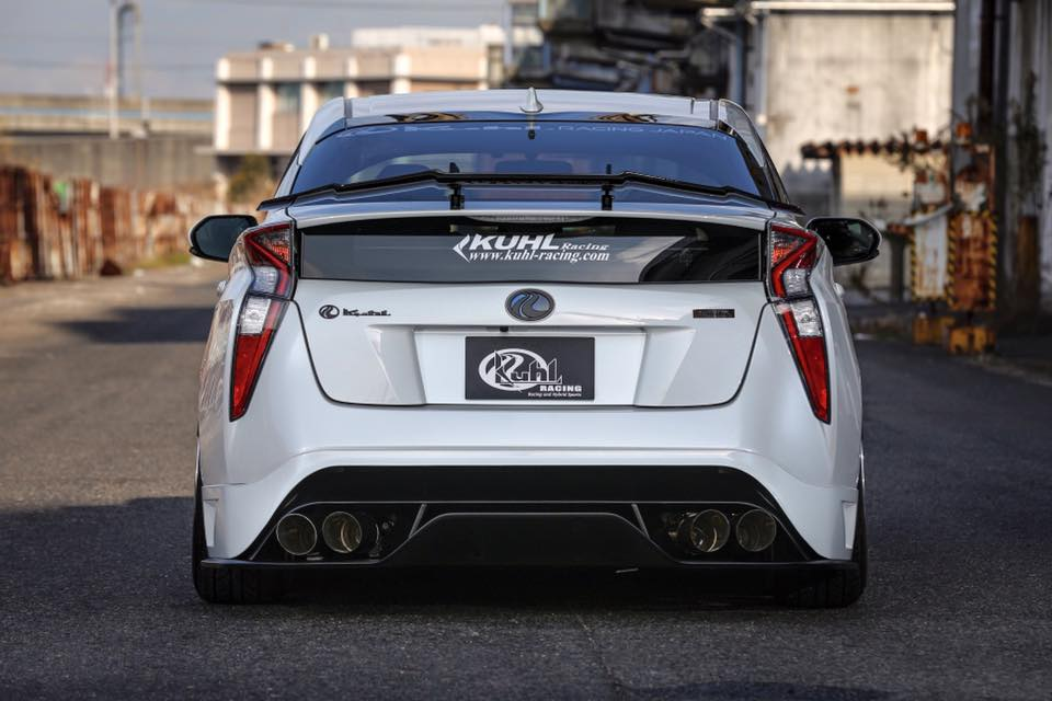 Car Pros Tacoma >> Tuned 2016 Prius with Quad Exhaust and Leather Wrap Looks Too Weird - autoevolution