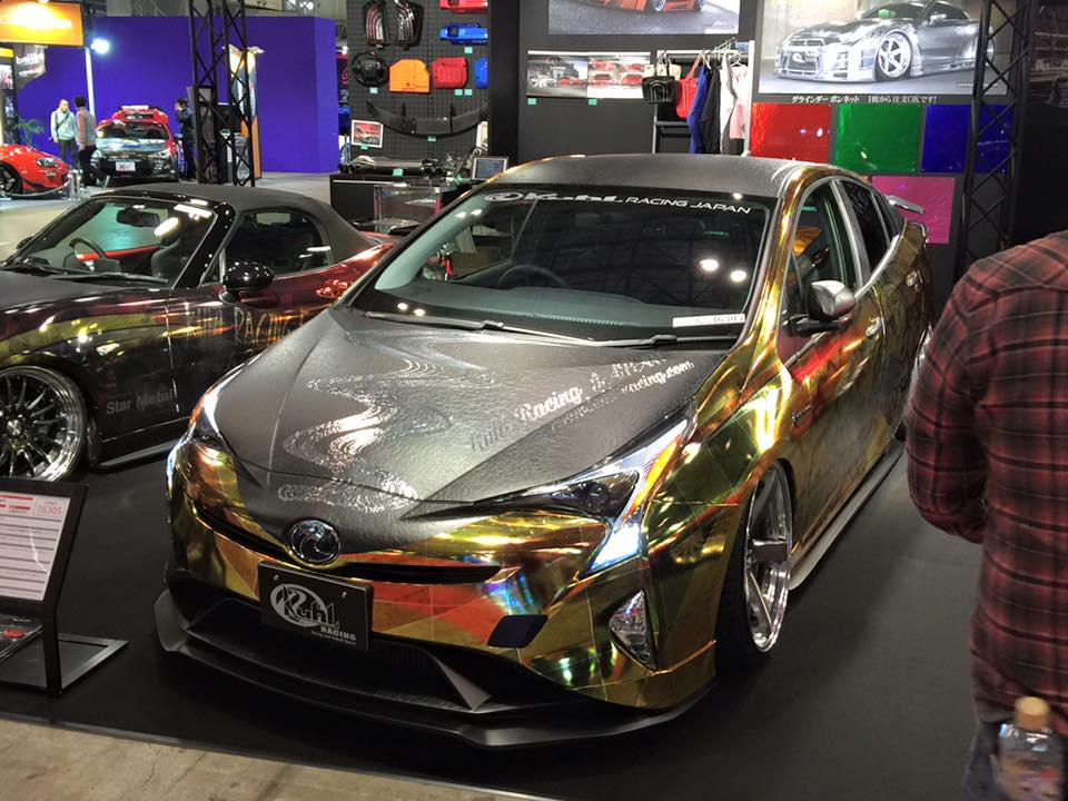 Tuned In Tokyo >> Tuned 2016 Prius with Quad Exhaust and Leather Wrap Looks Too Weird - autoevolution