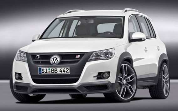 tuned b b volkswagen tiguan develops 300 hp autoevolution. Black Bedroom Furniture Sets. Home Design Ideas