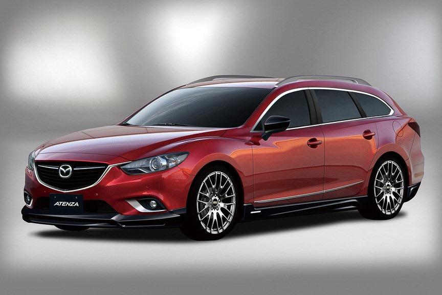 Tuned Mazda6 Trio Heading To Tokyo Auto Salon Autoevolution