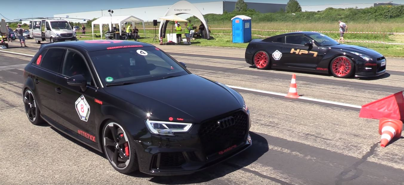 Three Generations Of Audi Rs3 Get Sound And Performance Comparison