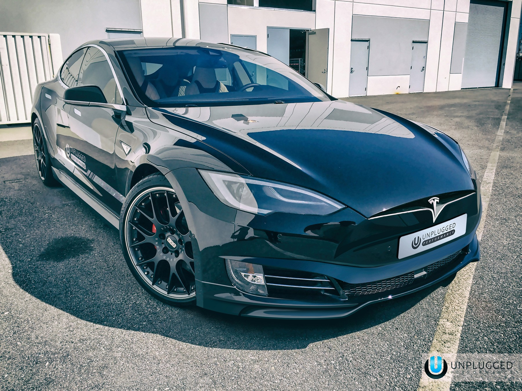 Tuning Company Proposes New Face For Old Tesla Model S - autoevolution