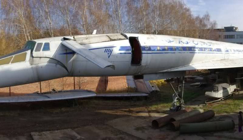 "Tupolev Tu-144 ""Concordski"" Discovered Hidden in Tatarstan ..."