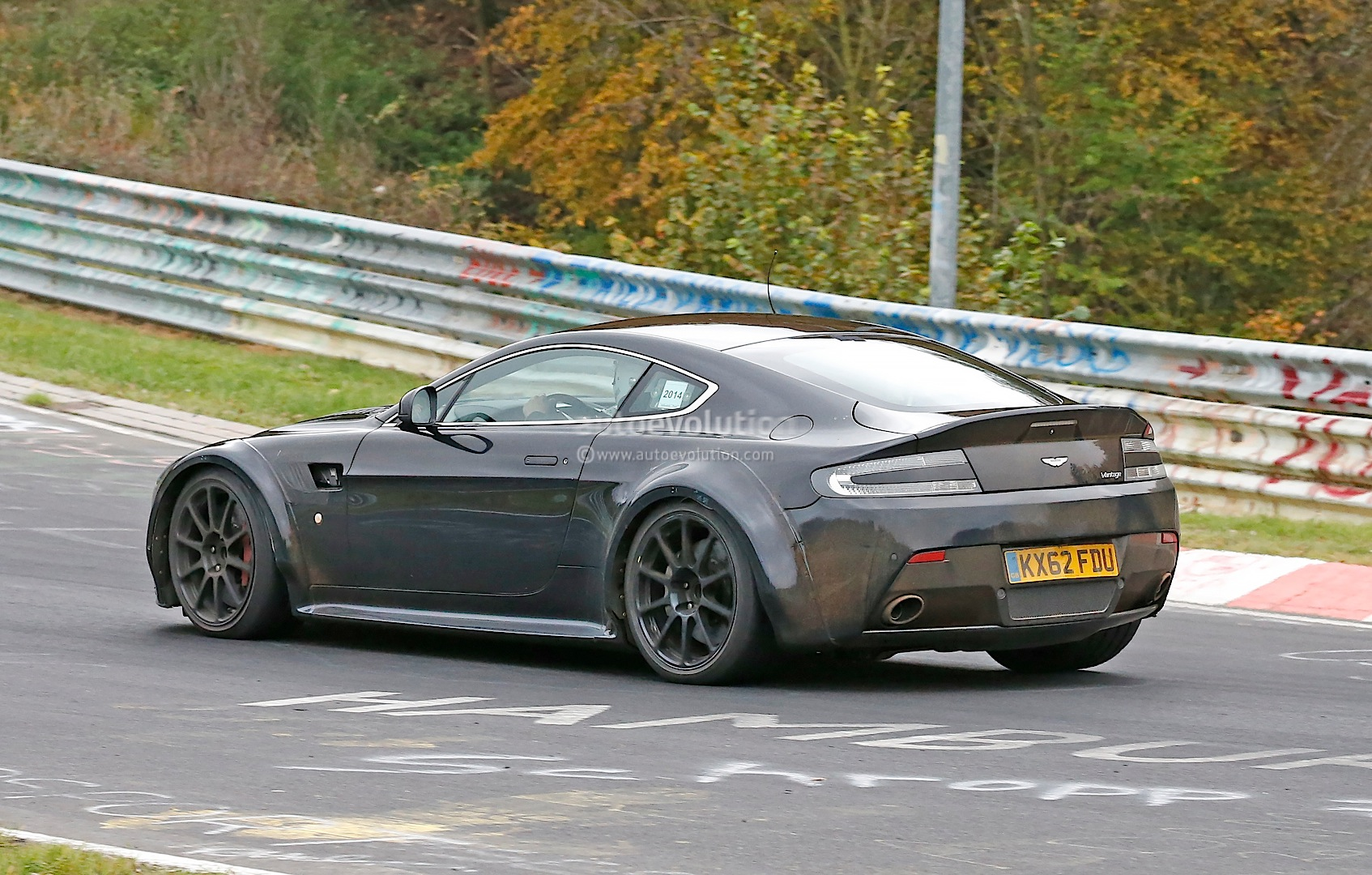 Turbo Aston Martin Prototype Spied Lapping The Nurburgring It S Amg Powered Autoevolution
