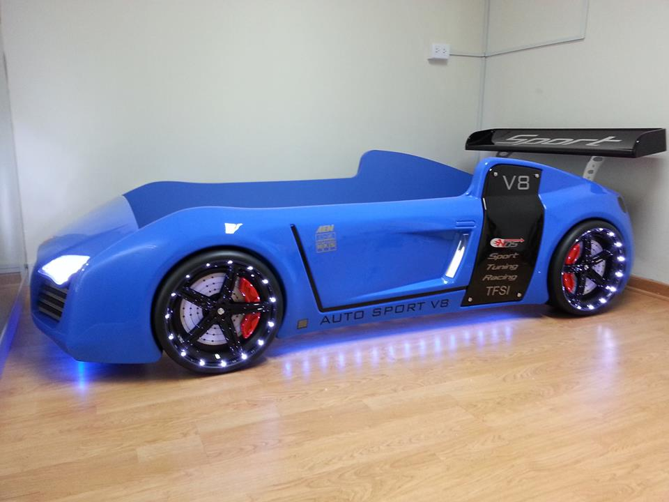 turn your kid into a future sportscar addict with these car beds