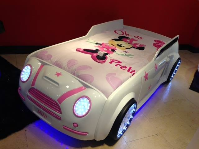 Awesome ... Turn Your Kid Into A Future Sportscar Addict With These Car Beds ...
