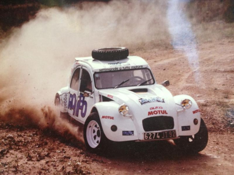 Twin-Engine Citroen 2CV Rally Car On Sale - Dirt Cheap - autoevolution