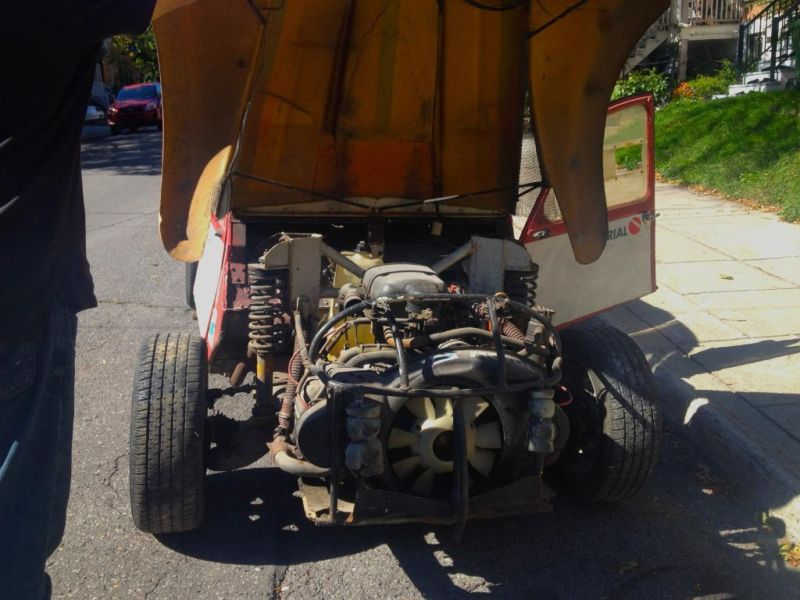 Twin Engine Citroen 2cv Rally Car On Sale Dirt Cheap