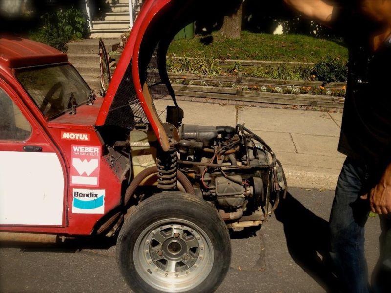 Twin-Engine Citroen 2CV Rally Car On Sale - Dirt Cheap