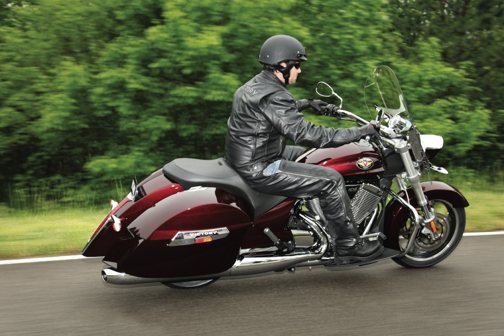 Victory Motorcycles Launches 2010 Cross Country and Cross ...
