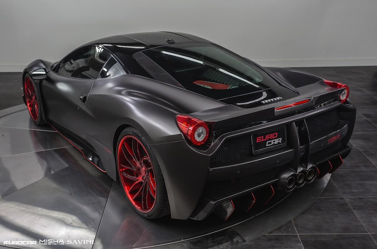 Open Road Mercedes >> Two Spectacular Misha Design Ferrari 458 Supercars Blow Us Away - autoevolution