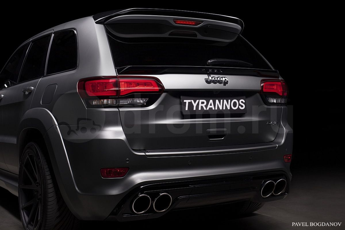 Tyrannos Jeep Grand Cherokee SRT8 Emerges in Russia [Video ...