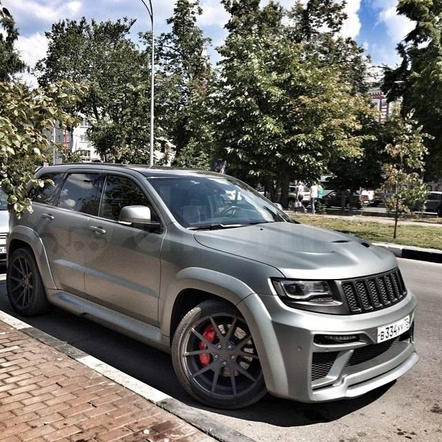 1200 HP Jeep Grand Cherokee SRT8 Defeats Porsche 911 Turbo