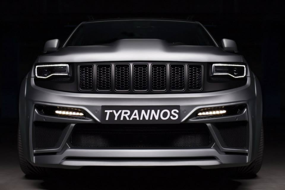Tyrannos Jeep Grand Cherokee Srt8 Emerges In Russia Video