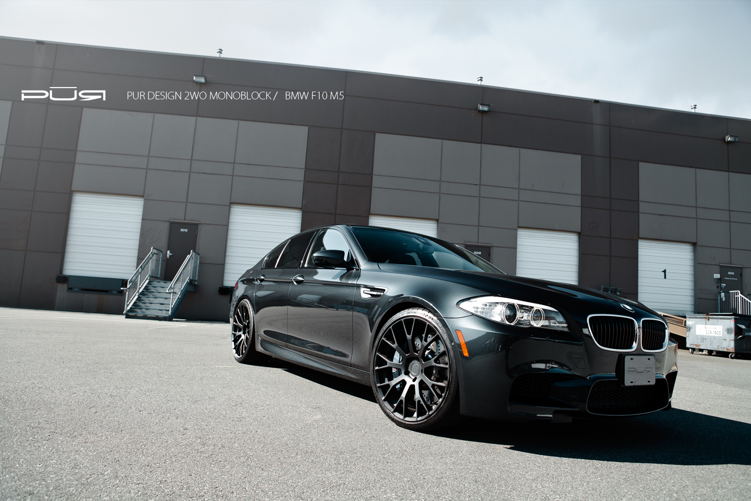 U2013 F10 Bmw M5 On Pur Wheels Autoevolution