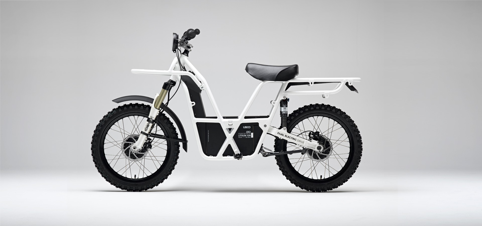 Ubco 2x2 The Two Wheel Drive Electric Enduro Bike