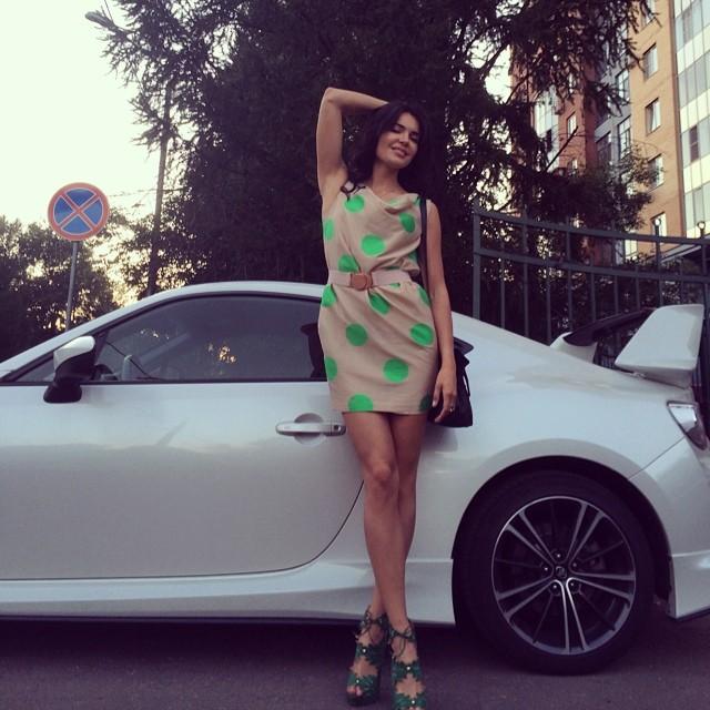 Ukrainian Playboy Model and Racer Inessa Tushkanova Is Every Man's Dream - autoevolution