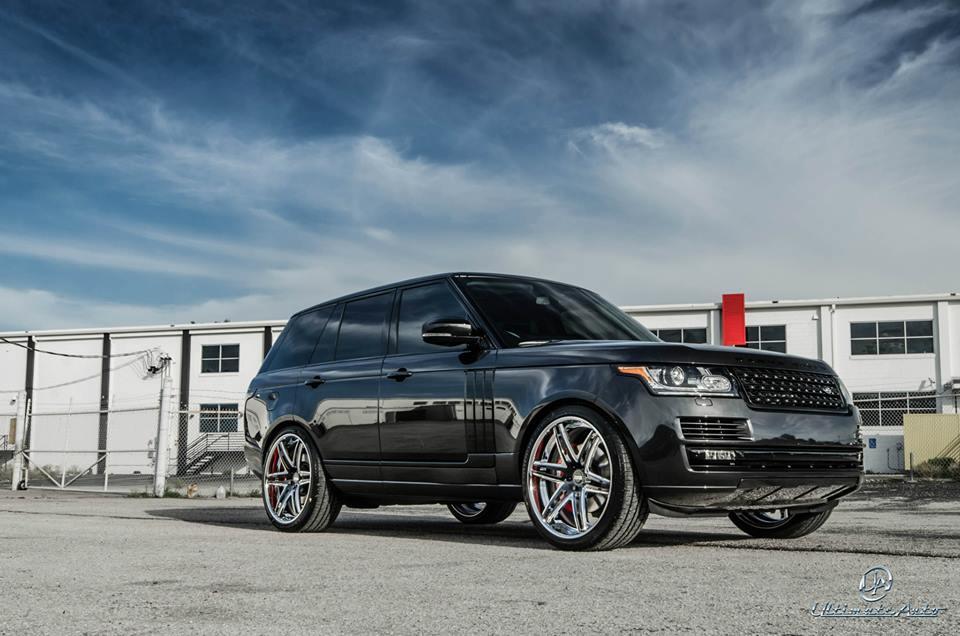 Ultimate Auto Puts The 2013 Range Rover On 24 Quot Vellano