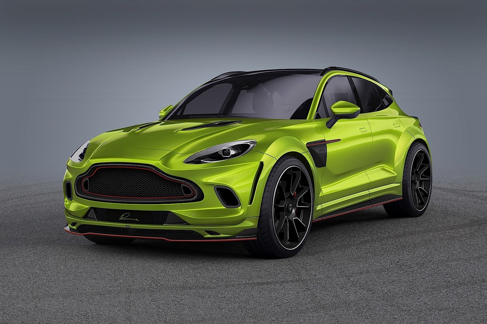 Ultra Wide Aston Martin Dbx By Lumma Design Loses Most Suv Abilities Autoevolution