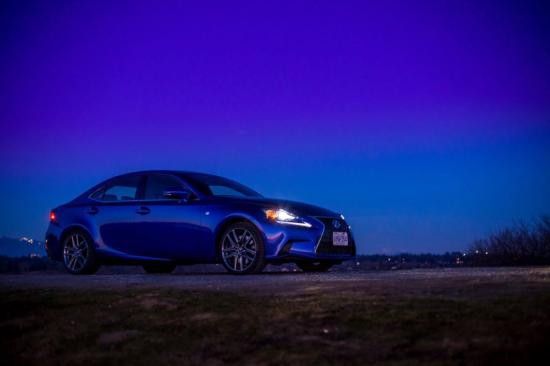 2015 Lexus Gs >> Ultrasonic Blue Lexus IS F Sport At Dusk for Your Desktop - autoevolution