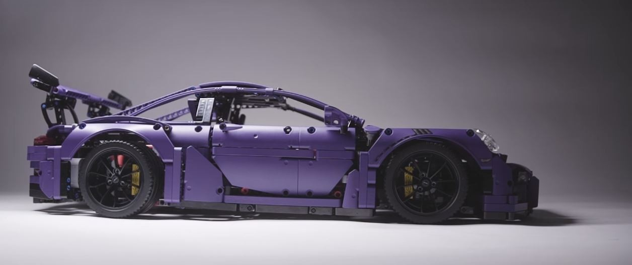 ultraviolet blue lego technic porsche 911 gt3 rs finally. Black Bedroom Furniture Sets. Home Design Ideas
