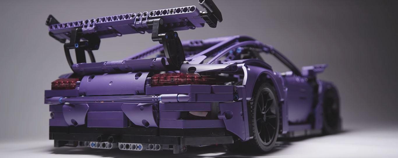 Quot Ultraviolet Blue Quot Lego Technic Porsche 911 Gt3 Rs Finally
