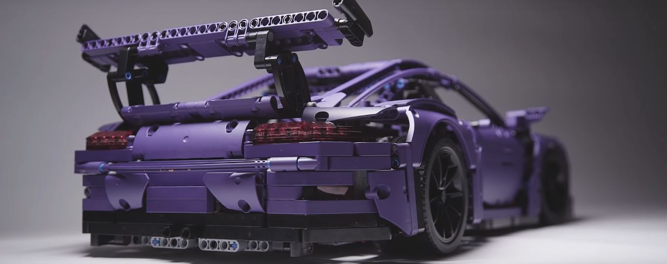 Ultraviolet Blue Lego Technic Porsche 911 Gt3 Rs Finally Happens As