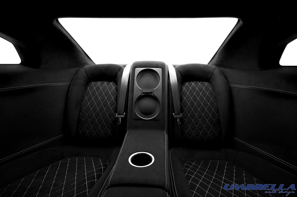 Umbrella auto plays with the nissan gt r 39 s interior for Auto interieur tuning
