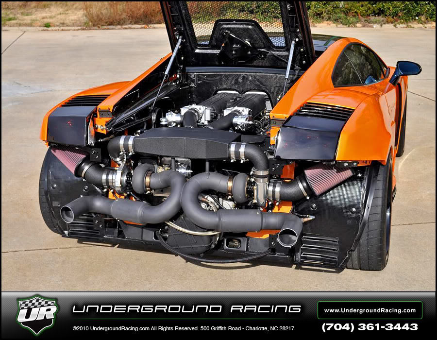 Underground Racing Hits Us With Another Gallardo TT Autoevolution - Fast car 361