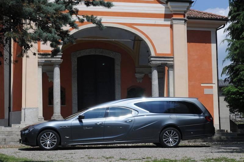 Undertaker Special Maserati Ghibli Hearse By Ellena