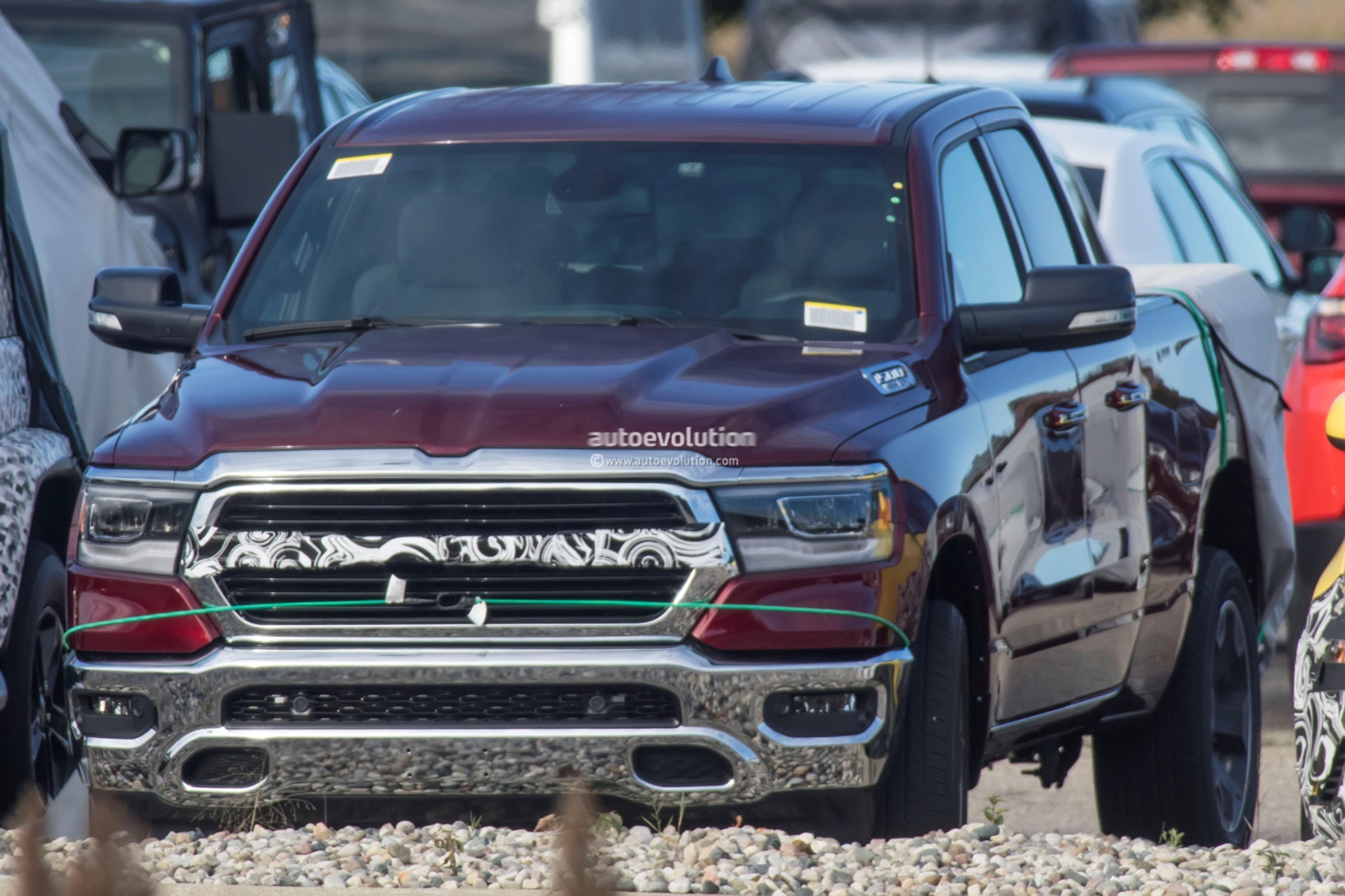 Spyshots: Undisguised 2019 Ram 1500 Boasts 5.7L HEMI V8 ...