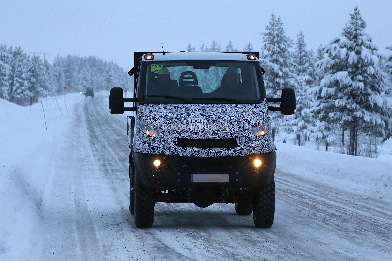 Unimog Rivaling Iveco Daily 4x4 Spied For The First Time