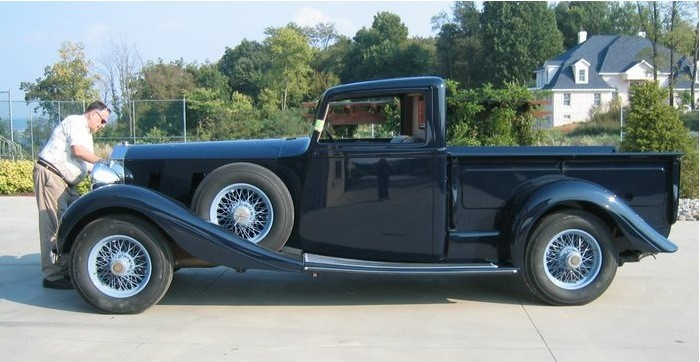 Rolls-Royce Pickup Truck is the Classiest Way to Haul a ...