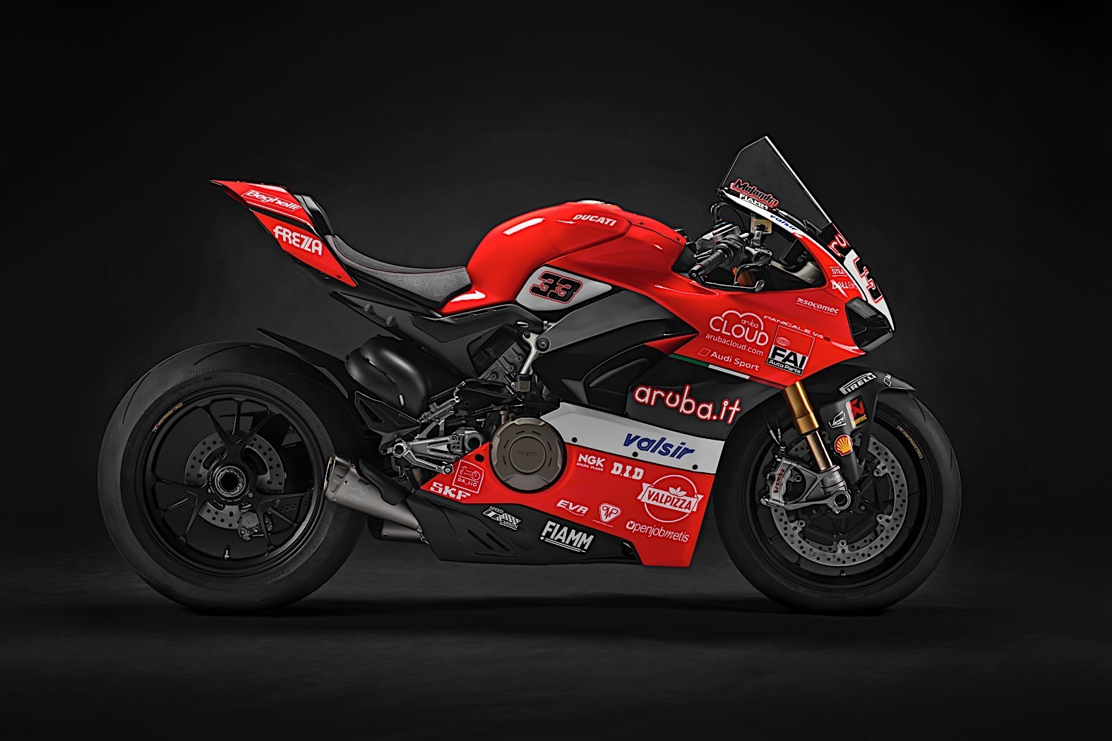 unique ducati panigale v4s motorcycles to sell on ebay after race of champions autoevolution. Black Bedroom Furniture Sets. Home Design Ideas