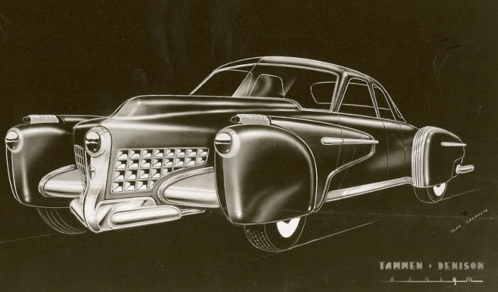 Unique Tucker Torpedo Prototype Replica Up For Sale Photo Gallery on 2016 Buick Enclave