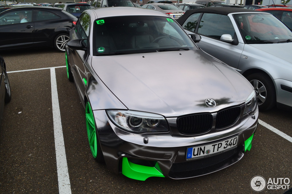 Unique Tuning Pur Bmw 1m Coupe Spotted In Holland