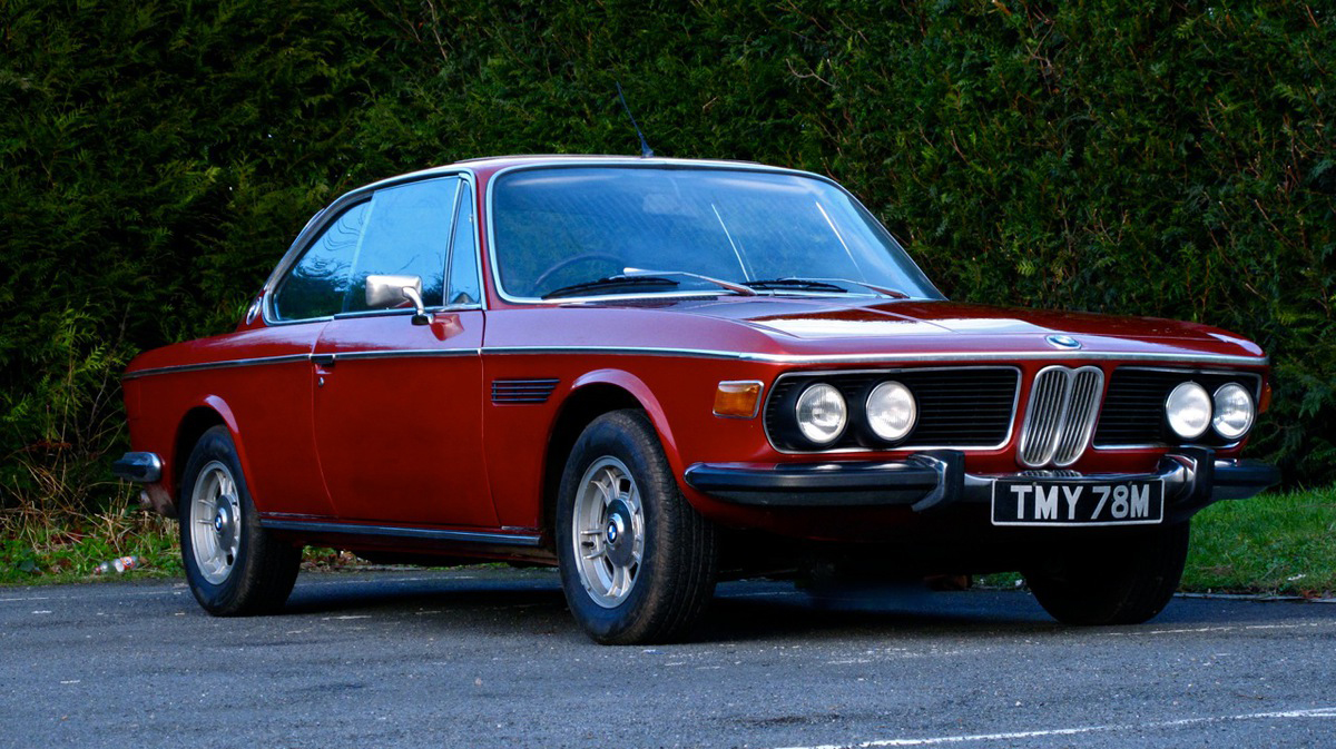 Up For Grabs At Race Retro And Classic Car Sale 1973 Bmw 3 0 Csl