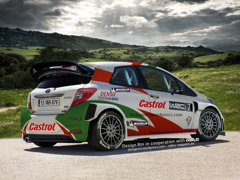 Upcoming toyota yaris wrc might look like this autoevolution
