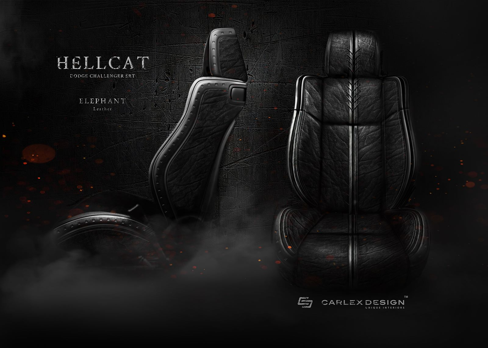Update An Elephant Was Killed To Make This Dodge Challenger Srt Hellcat S Seats Autoevolution