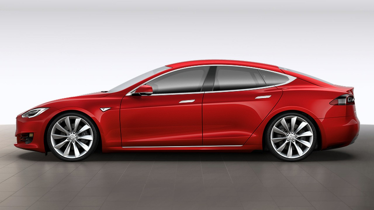 2017 Tesla Model S Facelift