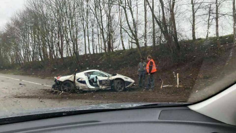 Update Police Ferrari 458 Speciale Aperta Destroyed Technician To Blame Autoevolution